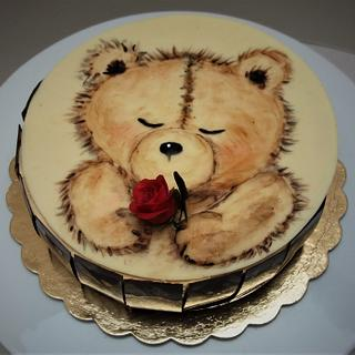 Valentine's cake - Cake by Darina
