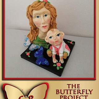 Butterfly Kids Cake Collaboration