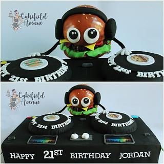 DJ BURGER!