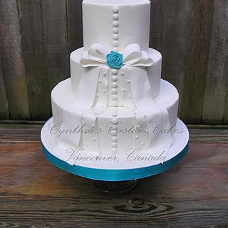 Elegant wedding Cake - Cake by Cynthia Jones