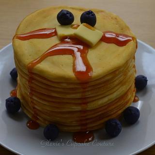pancake cake - Cake by glenda