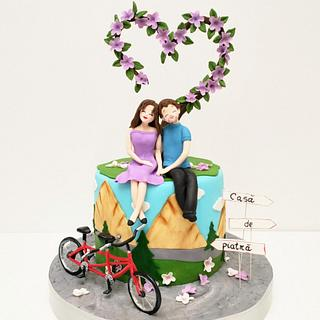 Tandem - Cake by Irina-Adriana