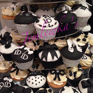 One Direction themed cupcakes for 18th birthday