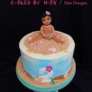 MOANA Birthday cake.