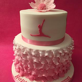 18th Birthday Cake for Gemma - Cake by Roberta