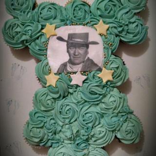 western cupcake onsie