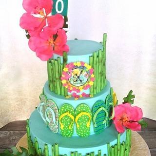 Key West/ Jimmy Buffet cake