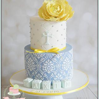 Blue & Yellow Baptism