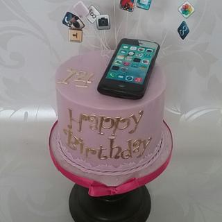 iPhone - Cake by Essentially Cakes