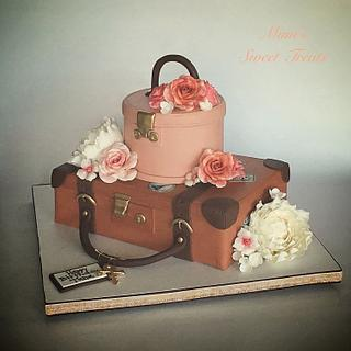 Love of Traveling Bday Cake