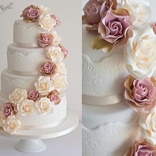 Amnesia Cascade Wedding Cake
