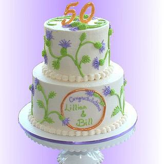 English Thistle Cake