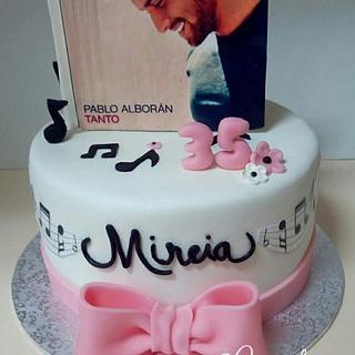 Pablo Alboran - Cake by Carcakes
