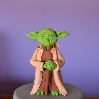 Yoda Star Wars - Cake by Zaklina