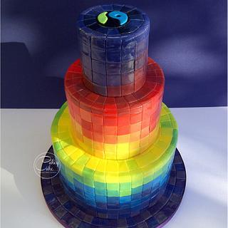 Rainbow Mosiac