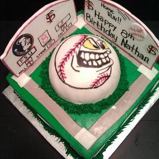 FSU Baseball - Cake by Jody Wilson