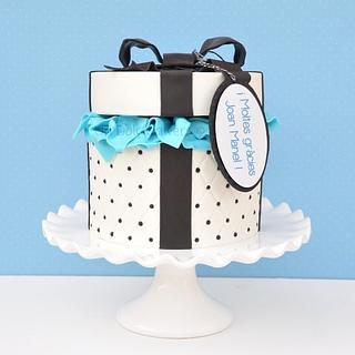 Present box cake - Cake by Undolcunivers