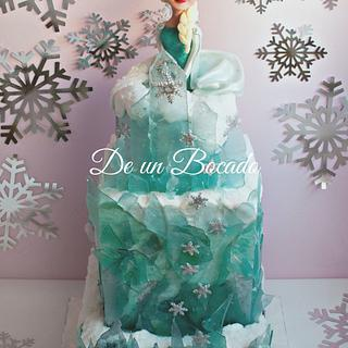 Elsa Frozen cake - Cake by Carmen