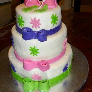 A BABY SHOWER - Cake by Linda