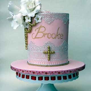 First communion cake - Cake by Kalina