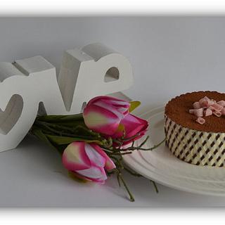 love is.....a little Tiramisu dessert!