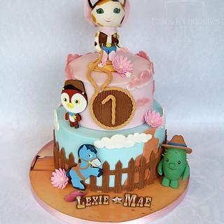 Lexie-Mae's Wild West cake