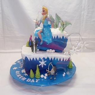 Frozen Birthdaycake