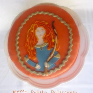 princess Merida cake