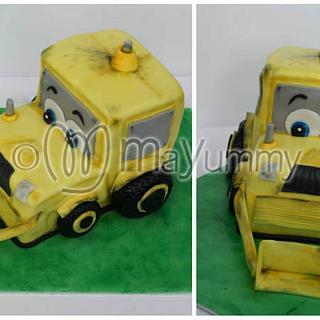 Digger cake - Cake by Mayummy