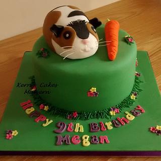 Guinea Pig - Cake by Kerri's Cakes