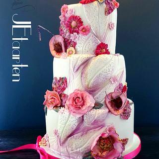 90 years birthday cake