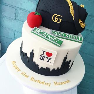 New York Gucci Cake!