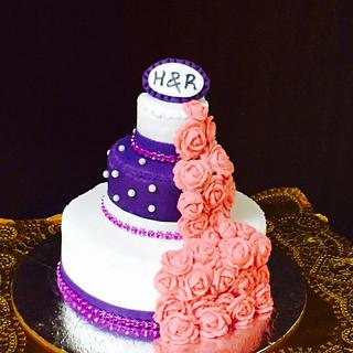 Miniature cake - Cake by thefrostgoddess