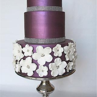Purple lustre finish