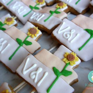 Wedding cake cokies