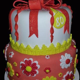 Springtime in cake!