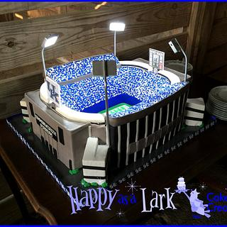 Replica of Commonwealth Stadium