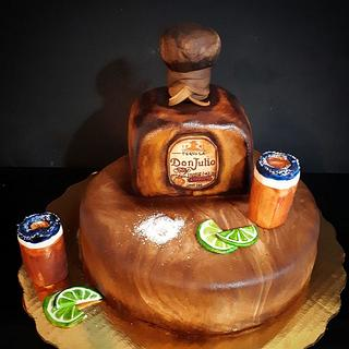 tequila cake - Cake by Laura Reyes