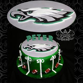 Philly Eagles Birthday Cake - Cake by Occasional Cakes