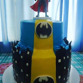 My First Batman Cake