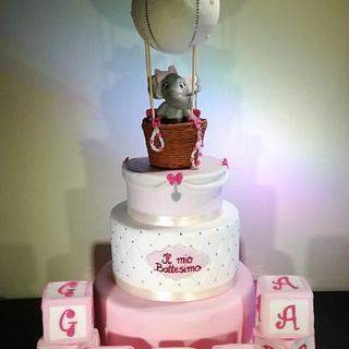 TORTA Battesimo - Cake by SugarClo