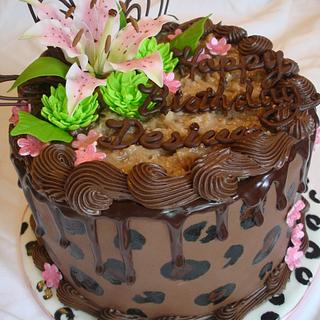 Chocolate Leopard cake - Cake by Dream Slice Cakes