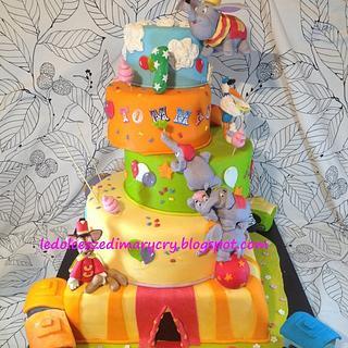 dumbo jumbo cake  - Cake by ledolcezzedimarycry