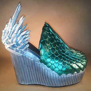 Game of Thrones Wedge Sugar Heel