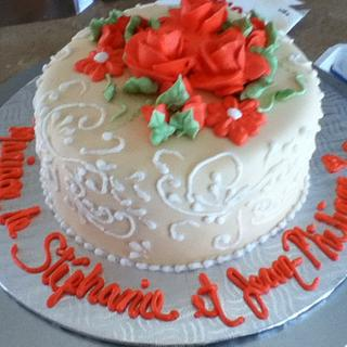 gâteaux retraitée, fiançaille et d'anniversaire