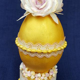 Huevos De Pascua Estilo Faberge - Paper Rose