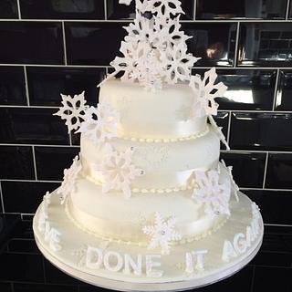 Snow Flake Wedding