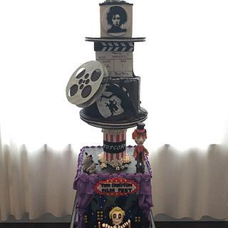 Tim Burton themed cake - Cake by Dkn1973