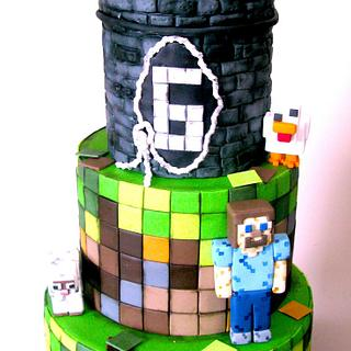 another minecraft cake - Cake by Delice