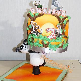 A structural Panda cake.....